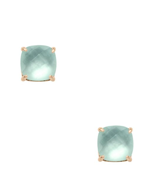 Kate Spade - Multicolor Semiprecious Mini Small Square Studs - Lyst