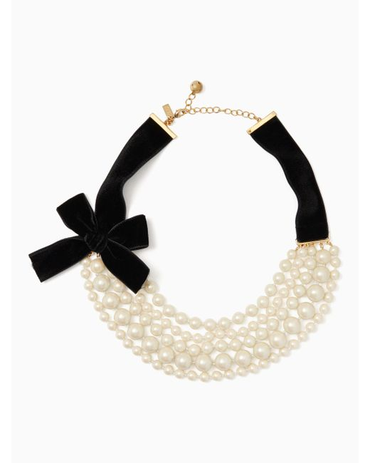 Kate Spade   Multicolor Girls In Pearls Necklace   Lyst