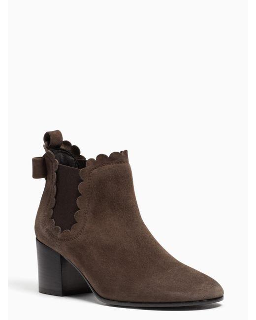 Kate Spade | Brown Garden Boots | Lyst
