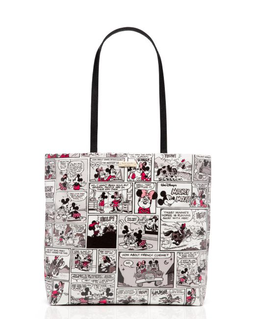 Kate Spade - Multicolor New York For Minnie Mouse Comic Tote - Lyst