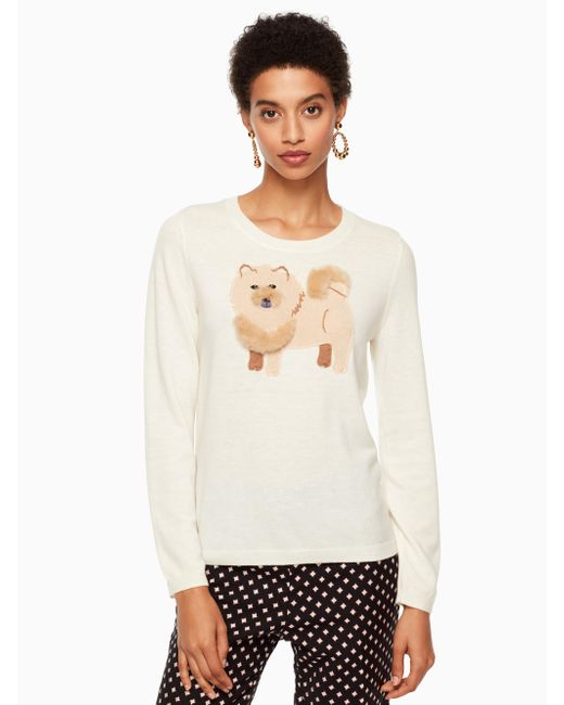 Kate Spade | Multicolor Chow Chow Sweater | Lyst