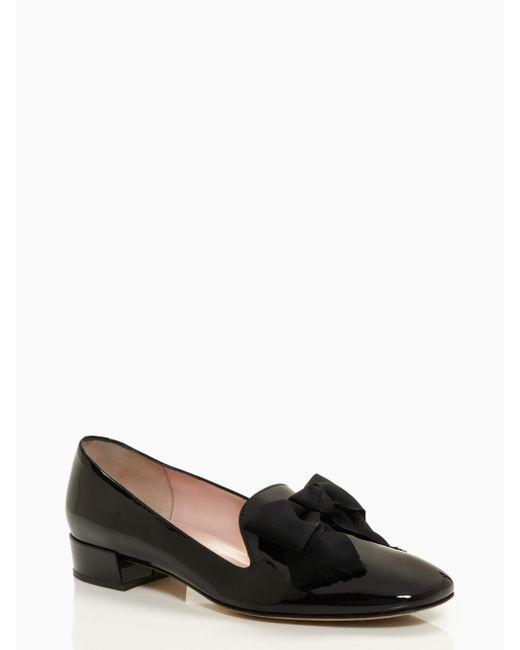 Kate Spade | Black Gino Flats | Lyst