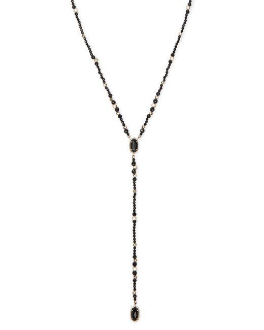 Kendra Scott - Metallic Bethany Gold Y Necklace - Lyst