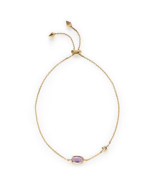Kendra Scott - Metallic Benson Adjustable Bracelet - Lyst
