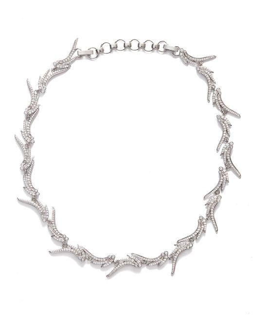 Kendra Scott - Metallic Cleo Collar Necklace In Silver - Lyst