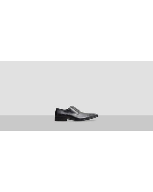 Kenneth Cole   Black Monkey Clip Leather Oxford for Men   Lyst
