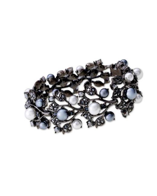 Kenneth Jay Lane | Multicolor Multi-pearls Ivy Bracelet | Lyst