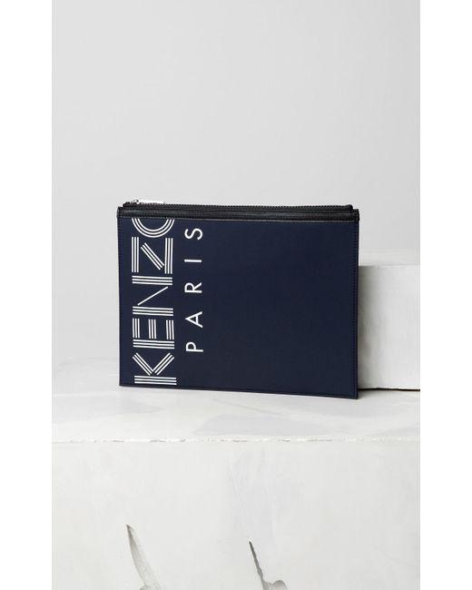 4b79e071 Women's Blue A4 Logo Clutch
