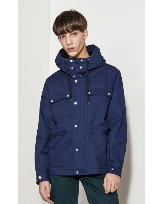 Kenzo Summer Parka in Blue for Men - Save 50% | Lyst