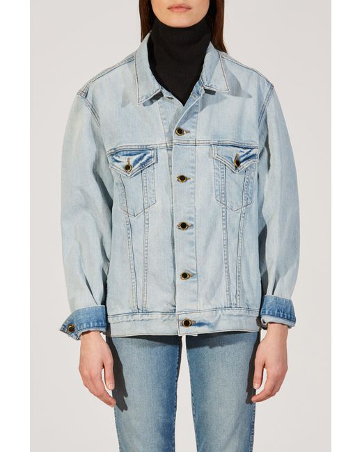 Khaite - Blue The Cate Jacket - Lyst