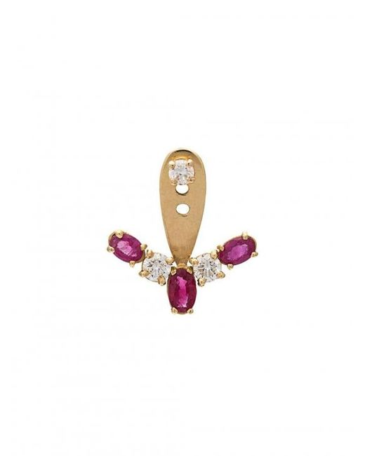 Yvonne Léon - Multicolor Diamond Earring - Lyst