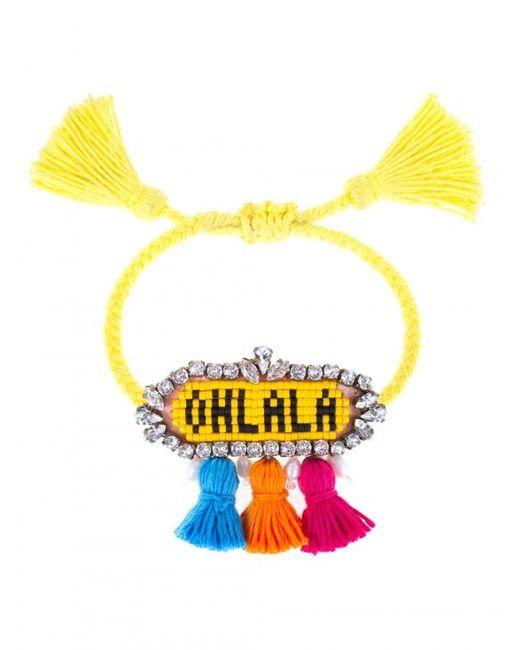 Shourouk | Yellow 'ohlala' Bracelet | Lyst