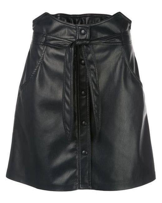 7caf43be10 Nanushka - Blue Chai Vegan Leather Skirt - Lyst ...