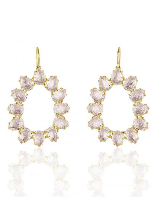 Larkspur & Hawk - Multicolor Caterina Small Frame Earring - Lyst