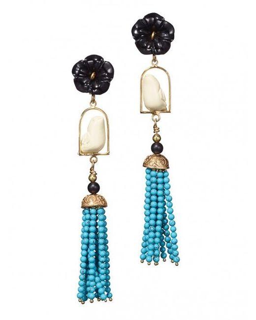 Of Rare Origin | Multicolor Swingers Earrings | Lyst