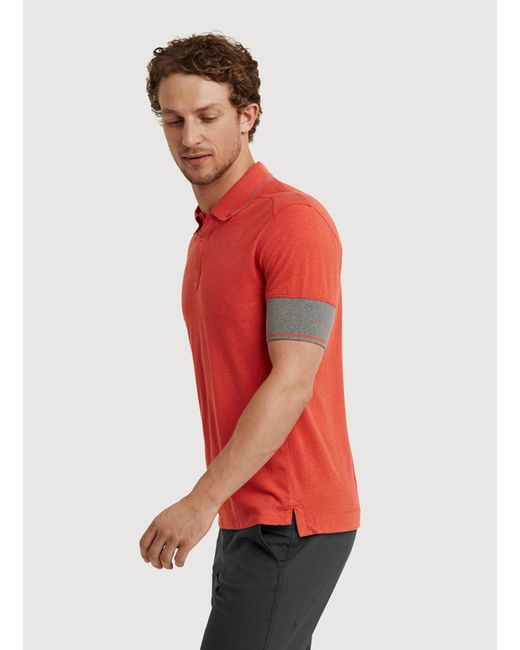 Kit and ace To The Nines Polo in Red for Men (HTHR FIRE ...