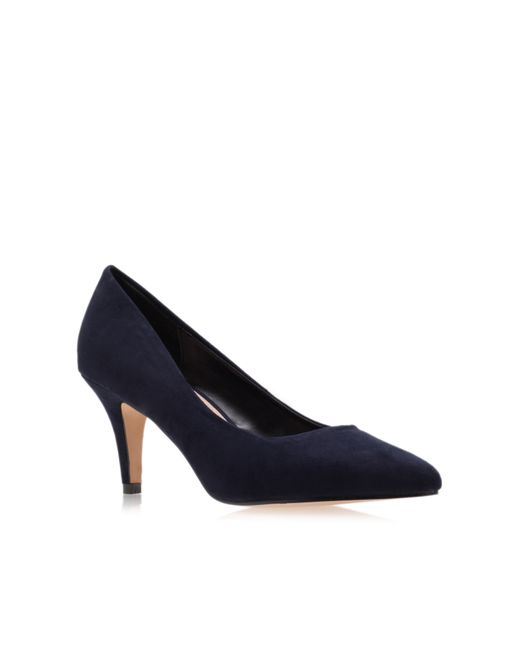 Carvela Kurt Geiger | Blue Kairo Mid Heel Court Shoes | Lyst