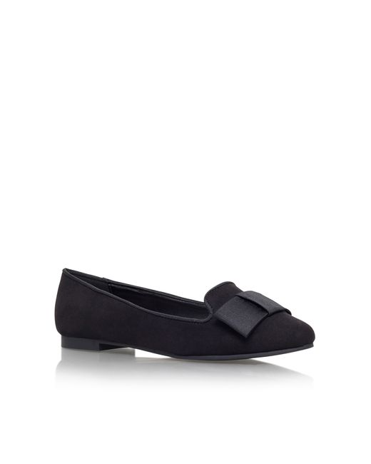 Carvela Kurt Geiger | Black Matilda Flat Slip On Court Shoes | Lyst