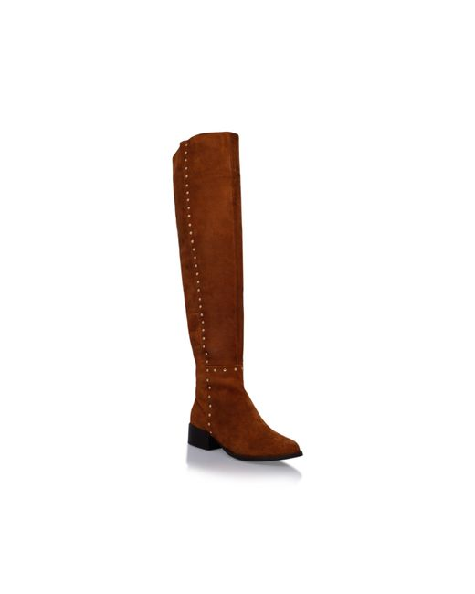 Carvela Kurt Geiger | Brown Will Knee High Boots | Lyst