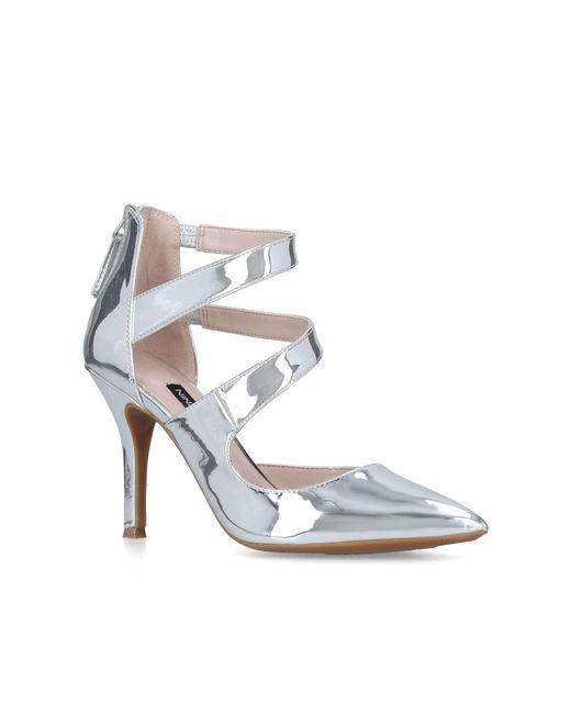 Nine West - Metallic Florent9x9 (silver Synthetic) Women's Shoes - Lyst