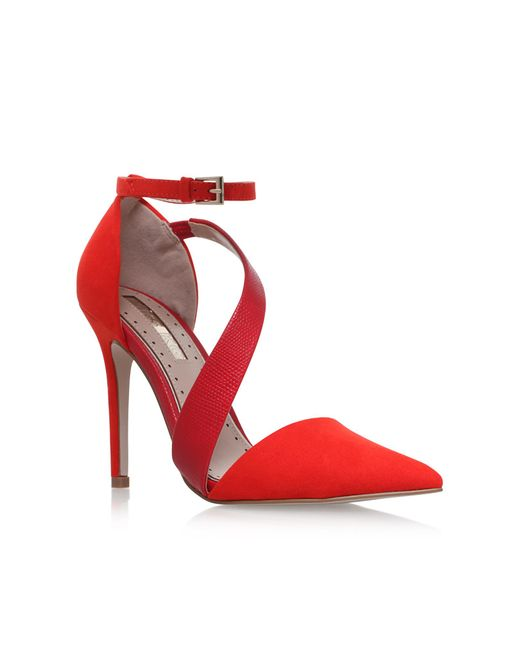 Miss Kg | Red Arielle Sandals | Lyst