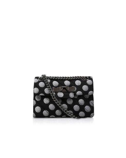 Kurt Geiger - Fabric Mini Mayfair X In Black - Lyst