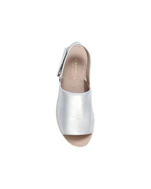 0f944fb8ea69 Carvela Kurt Geiger Silver  kinder  Flat Sandals in Metallic - Save ...