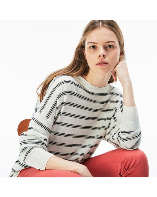 Lacoste - Multicolor Linen Nautical Shirt - Lyst