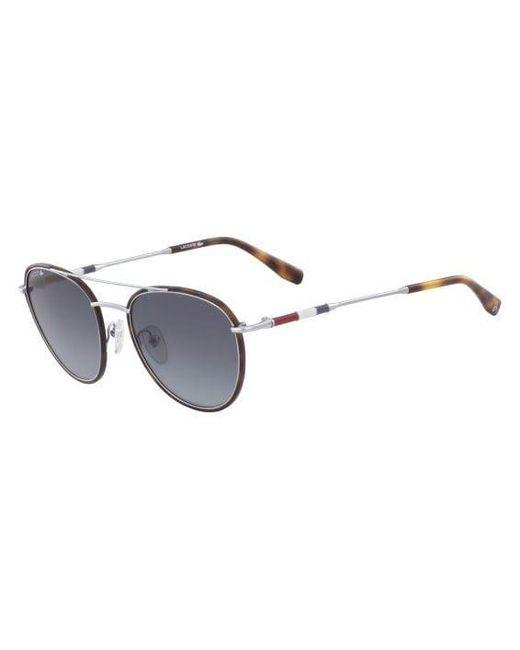 f3a33062d40 ... Lacoste - Multicolor Metal Oval Novak Djokovic Capsule Collection  Sunglasses for Men - Lyst ...