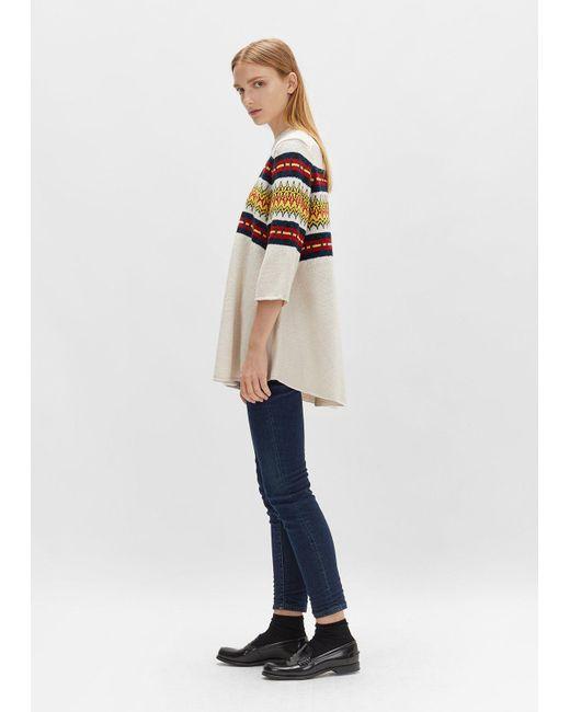 6397 Merino Fairisle Sweater   Lyst