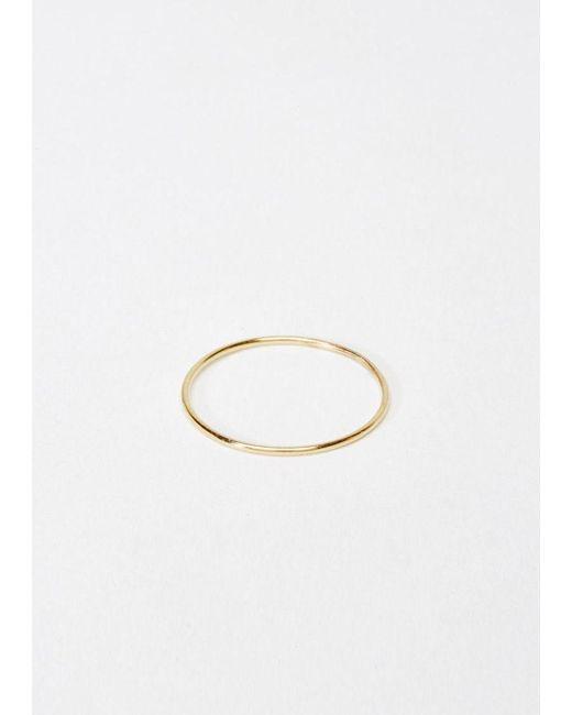 Saskia Diez | Metallic Wire Ring | Lyst