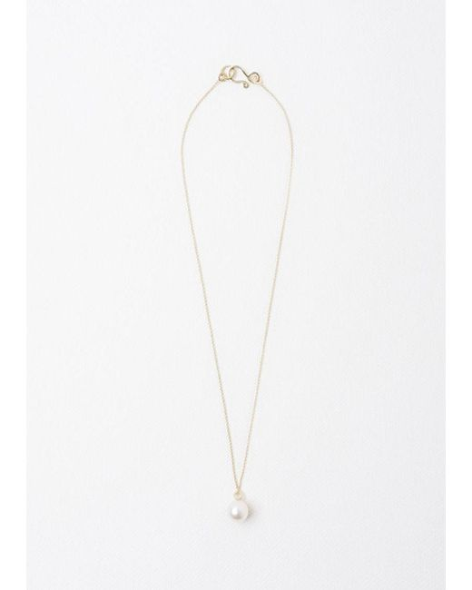 Sophie Bille Brahe | Metallic Perle Simple Necklace | Lyst