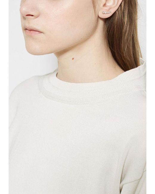 Sophie Bille Brahe | Metallic Petite Croissant De Lune Earring | Lyst