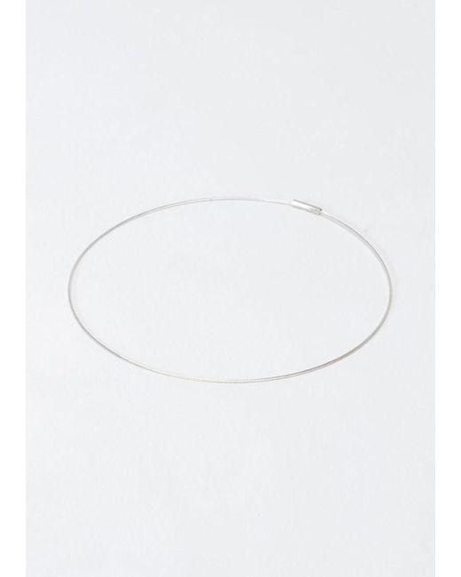 Saskia Diez | Metallic Superfine Bracelet | Lyst