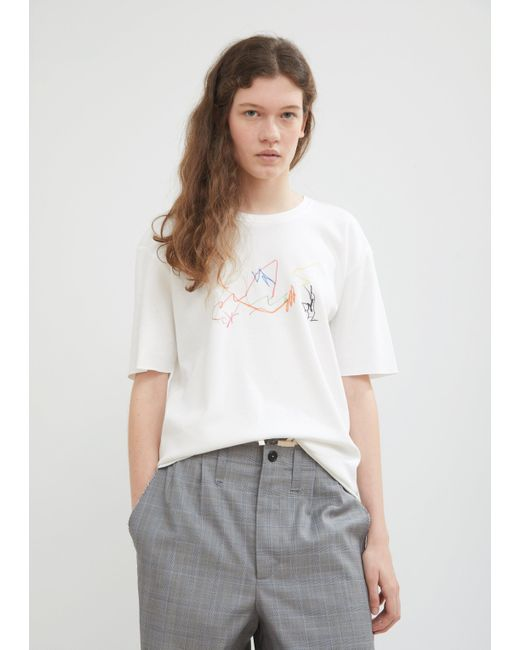 Camiel Fortgens - Multicolor Drawing 2 Tee - Lyst