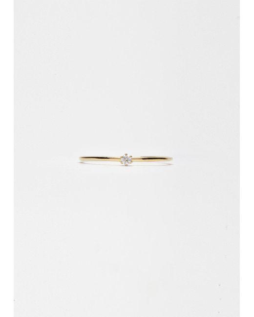 Satomi Kawakita - Metallic Baby Diamond Ring - Lyst