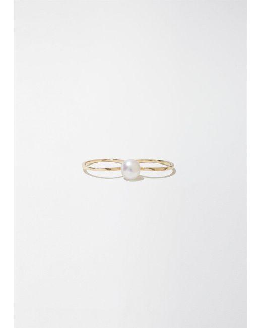Sophie Bille Brahe   Metallic Double De Perle Ring   Lyst