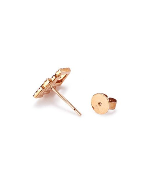 Khai Khai Umbrella & Raindrop stud earrings - Metallic z9JuJ