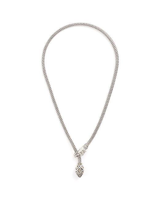 John Hardy - Metallic 'legends Naga' Gold Silver Necklace - Lyst