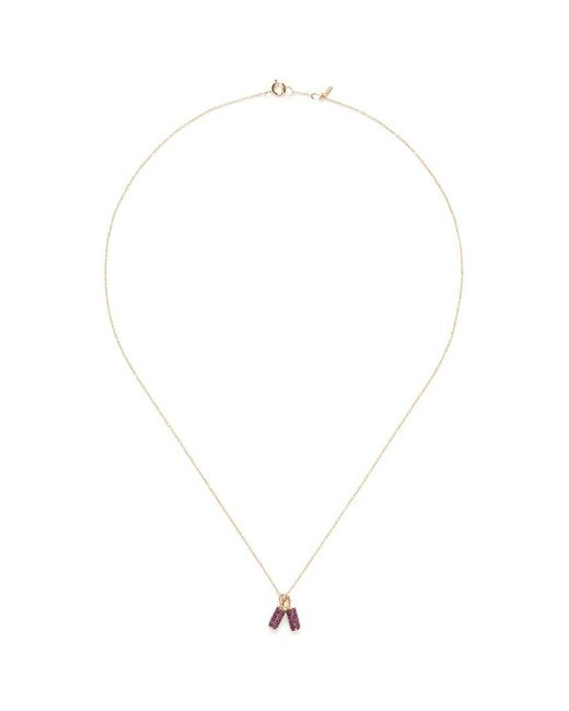 Bao Bao Wan - Red 'and The Little Ones...' Fire Cracker Ruby 18k Yellow Gold Pendant Necklace - Lyst
