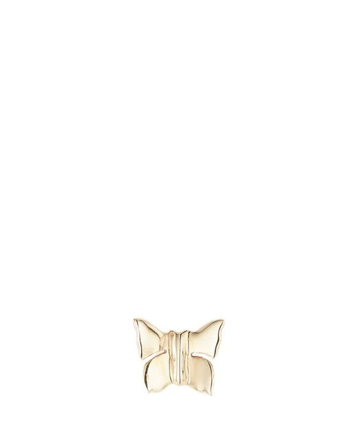 Loquet London | Metallic 'butterfly' 14k Yellow Gold Single Stud Earring – Nature | Lyst