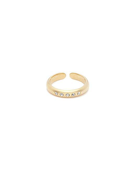 Philippe Audibert - Metallic 'kim' Swarovski Crystal Open Ring - Lyst