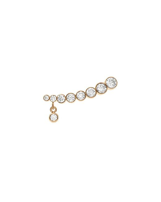 Sophie Bille Brahe - Metallic 'croissant Amanda' Diamond 18k Yellow Gold Single Earring - Lyst