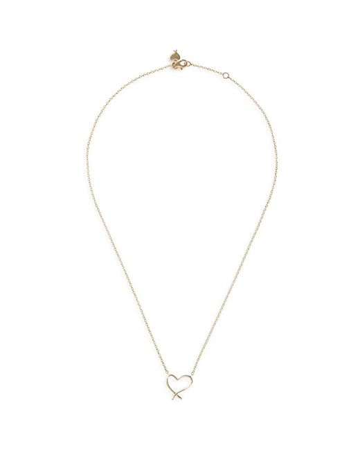 Stephen Webster - Metallic 'neon Heart' 18k Yellow Gold Pendant Necklace - Lyst