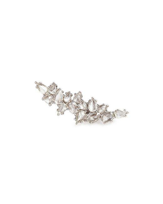 Monique Péan - 'atelier' Diamond 18k White Gold Single Climber Earring - Lyst