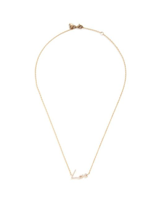 Stephen Webster - Gray 'neon Love' Diamond 18k Yellow Gold Pendant Necklace - Lyst