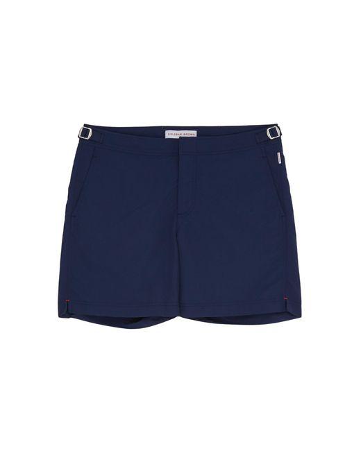 5e0dbbc402 Orlebar Brown - Blue 'bulldog' Swim Shorts for Men - Lyst ...