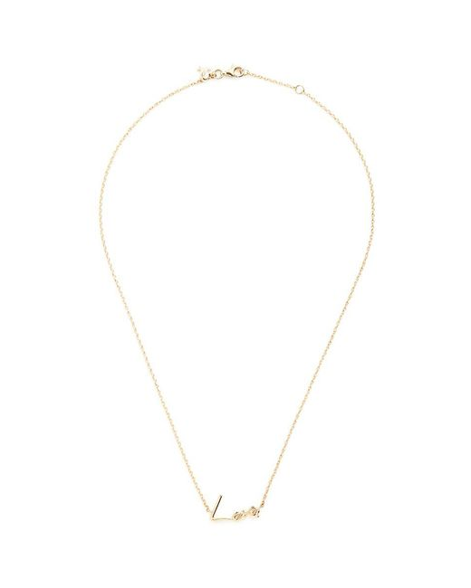 Stephen Webster - Metallic 'neon Love' 18k Yellow Gold Pendant Necklace - Lyst