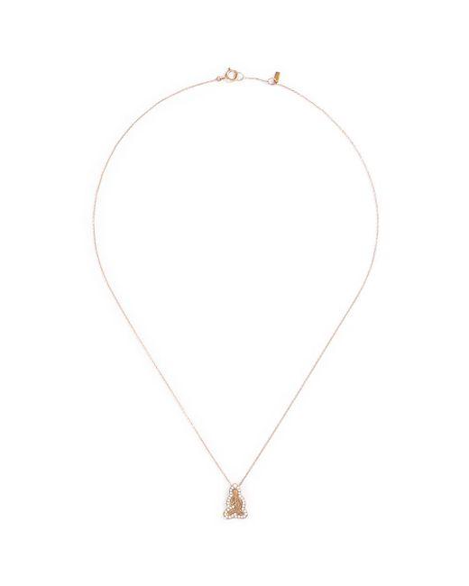 Bao Bao Wan - Metallic 'little Buddha' 18k Gold Diamond Necklace - Lyst