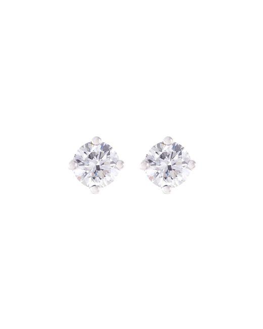 LC COLLECTION - Metallic Diamond 18k White Gold Earrings - Lyst